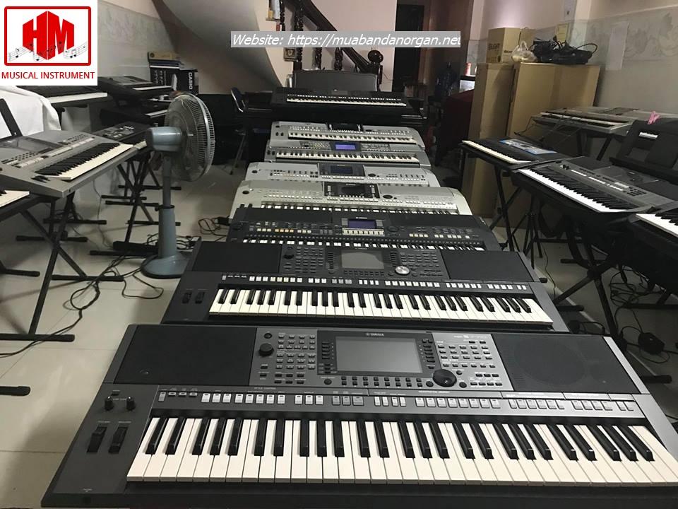 thu mua đàn organ cũ tại bình dương