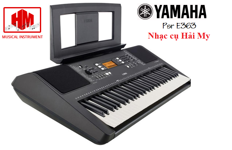 Dan organ yamaha psr E363