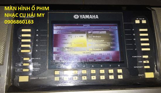 màn hình đàn organ yamaha s670
