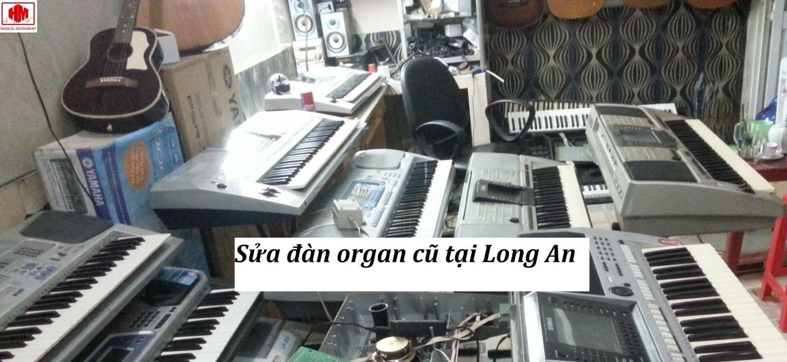 sửa đàn organ cũ tại long an
