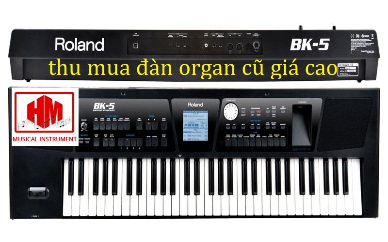 thu mua đàn organ cũ giá cao