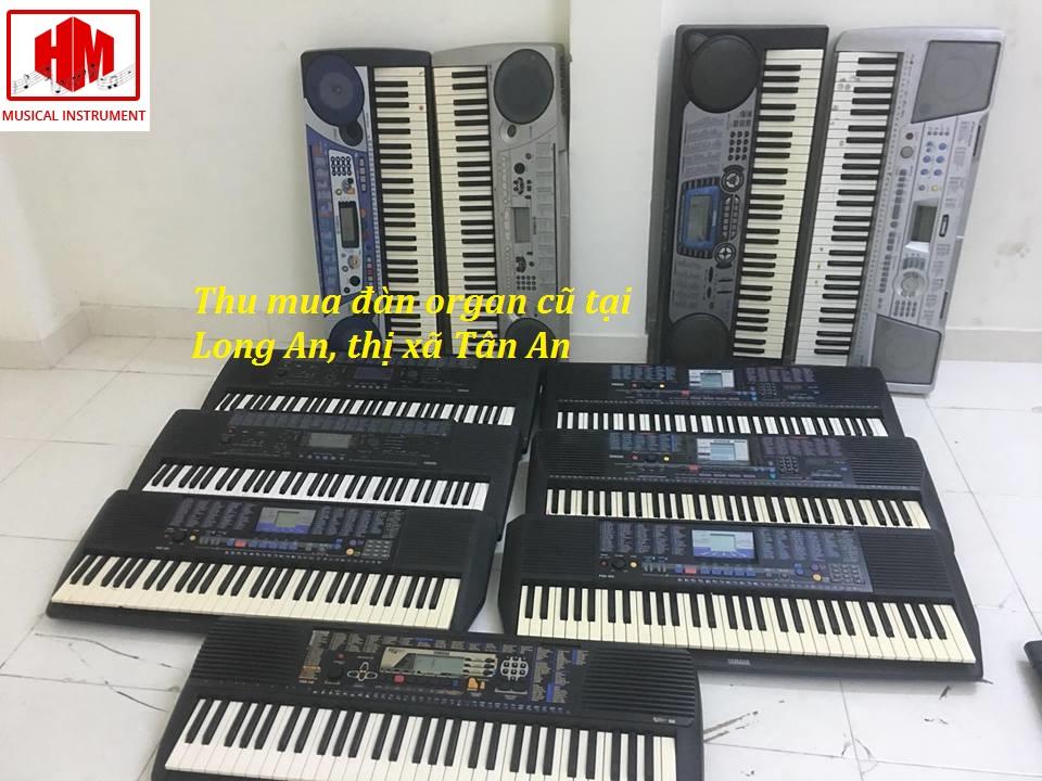 thu mua đàn organ cũ tại long an