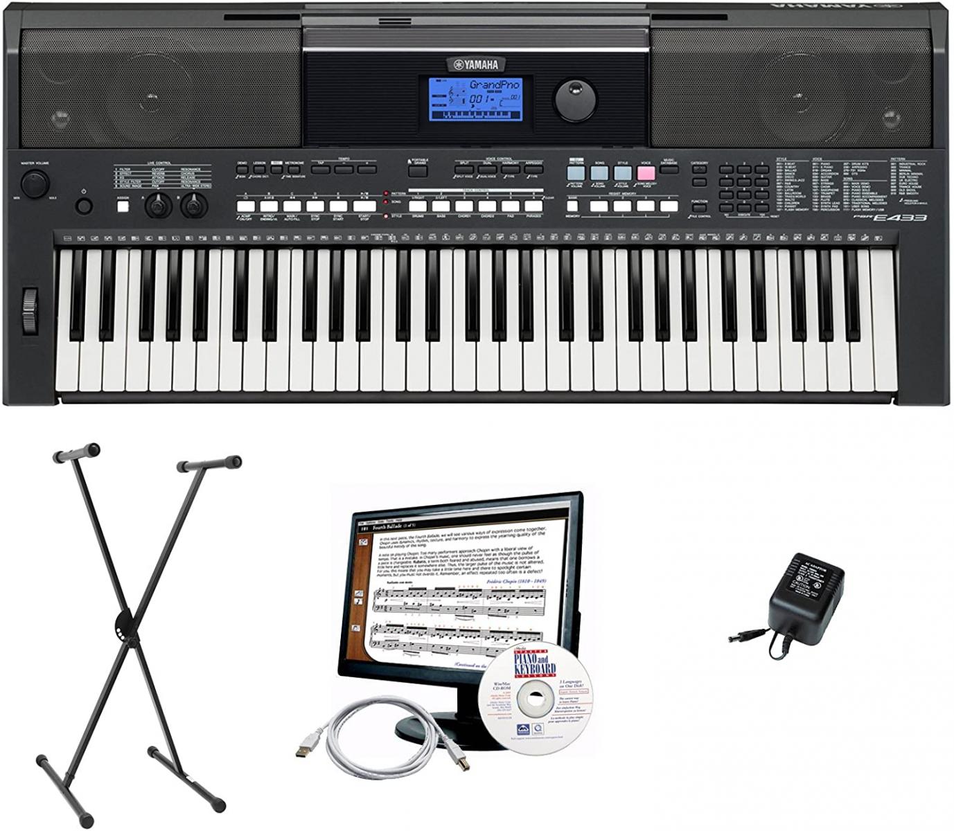 Đàn Organ Yamaha PRS E433 cu